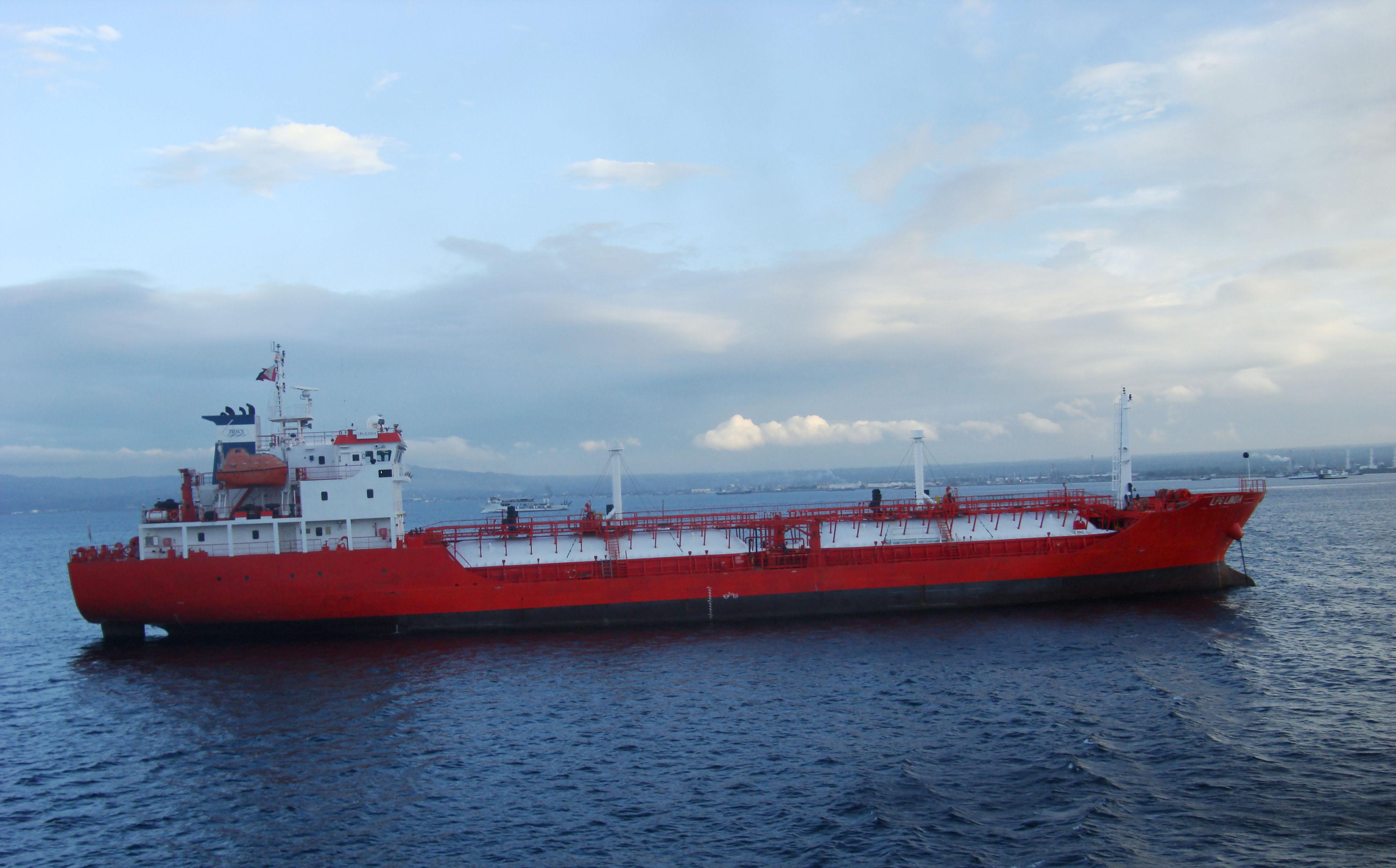 MV LPG Linda liquid gas ship Batangas Philippines 01