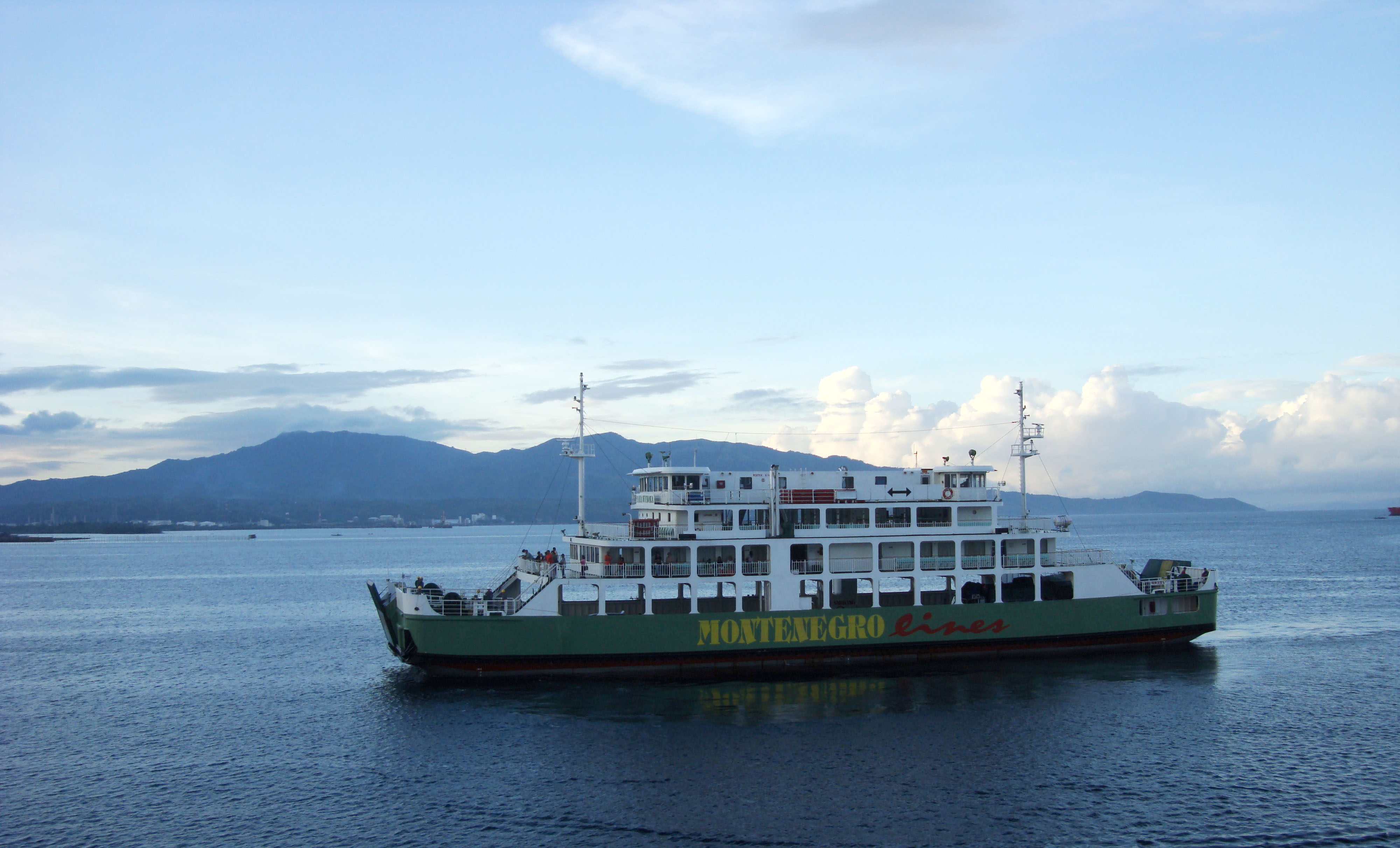 MV Maria Wynona car ferry Montenegro lines Batangas Pier Philippines 01