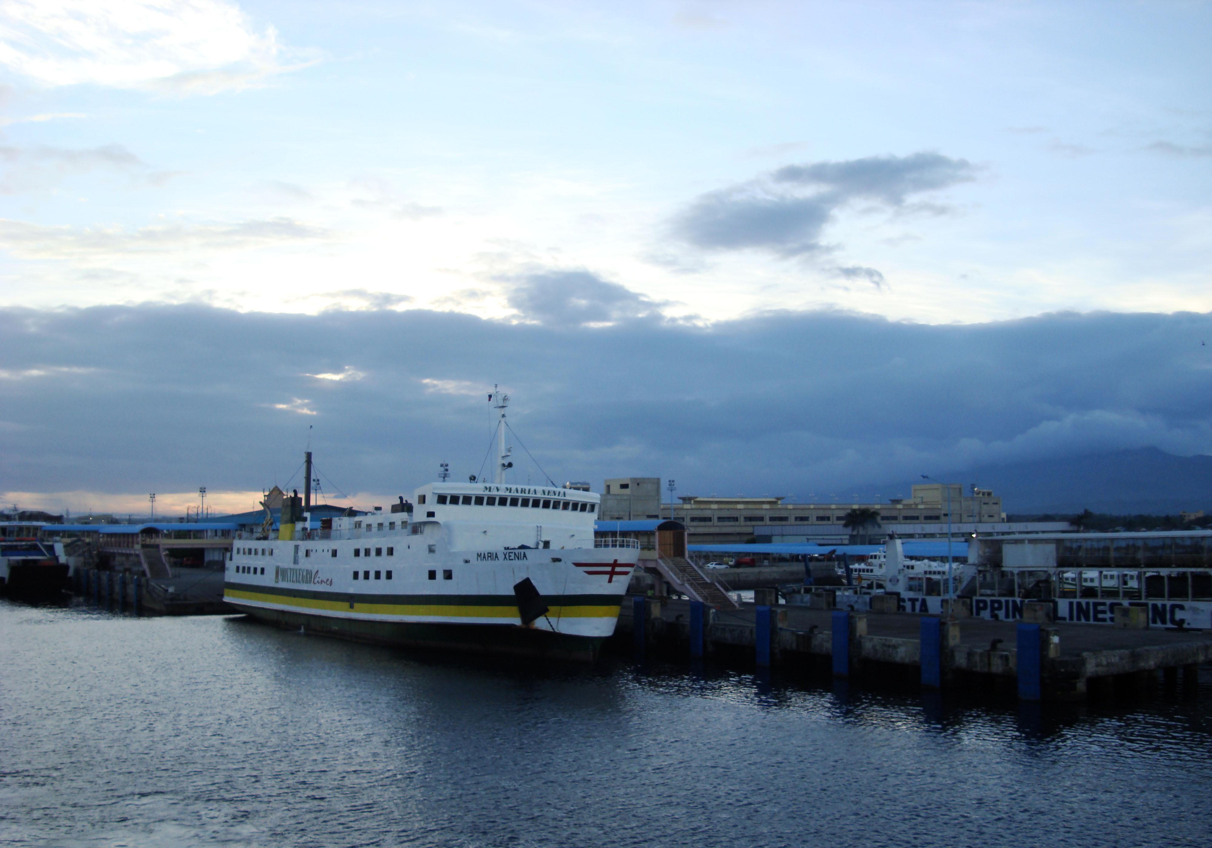 MV Maria Xenia car ferry Montenegro lines Batangas Pier Philippines 01