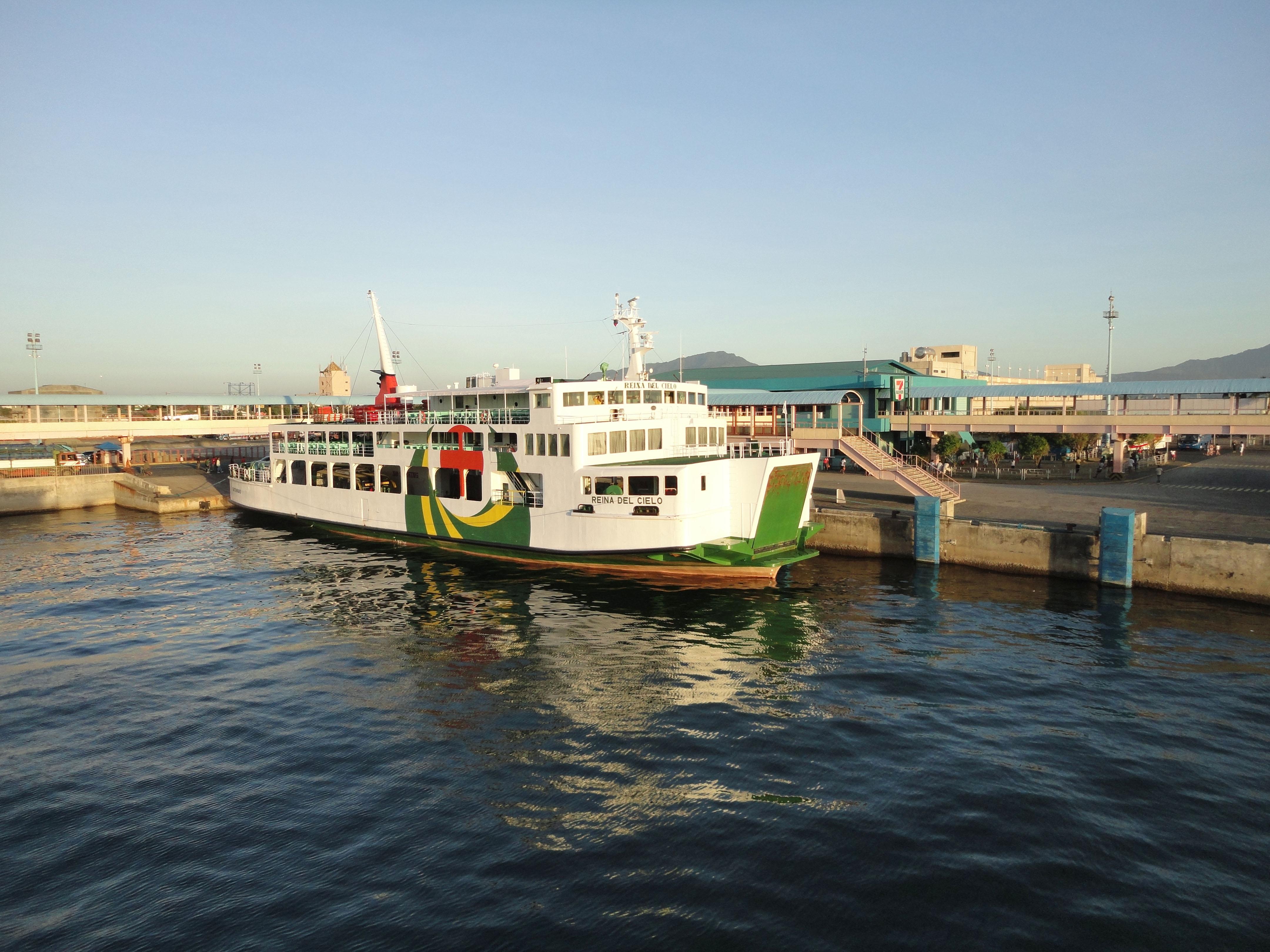 MV Reina Del Cielo Montenegro lines Batangus Pier Philippines 01