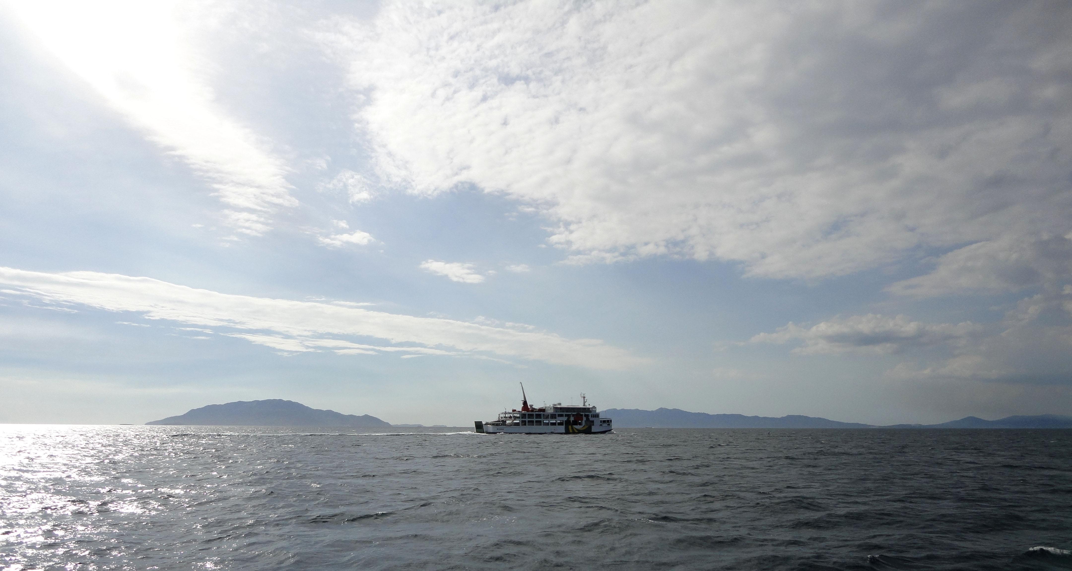MV Reina Del Cielo Montenegro lines Batangus crossing Philippines 2010 06