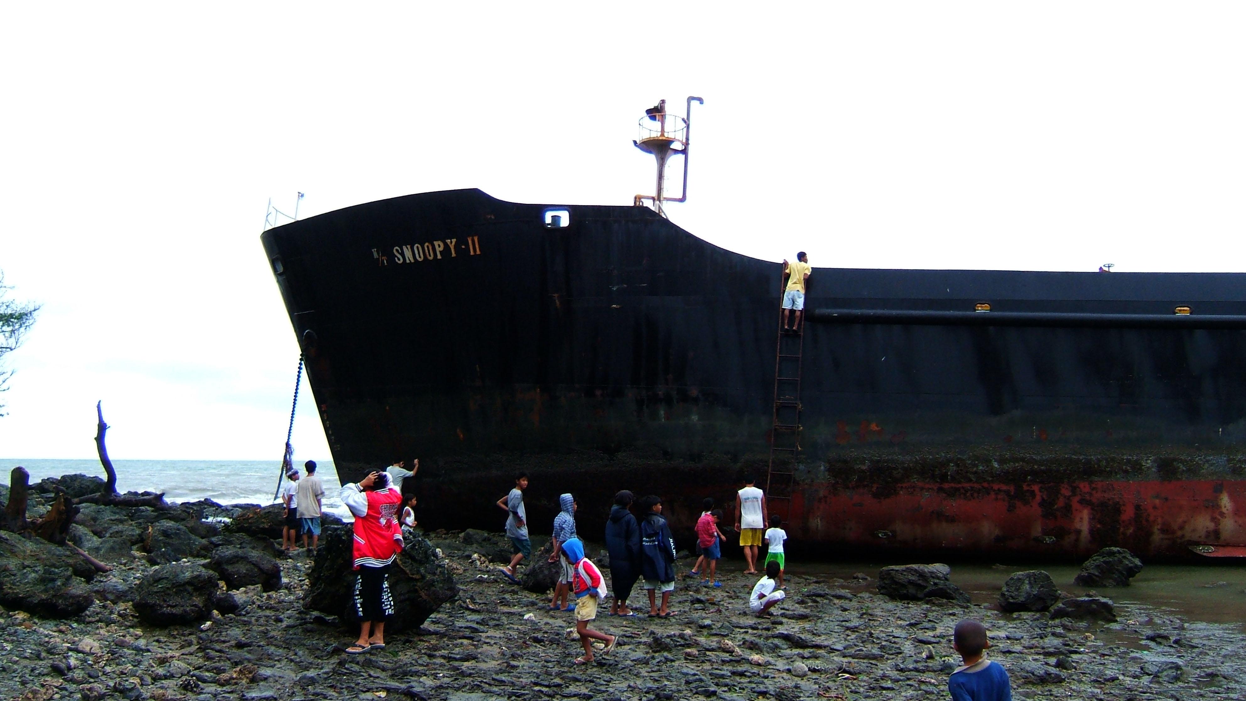 MV Snoopy II Typhoon Chanchu Poblacion Hundura Beach Varadero Bay 11