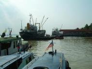 Asisbiz MV Kyaw Yadanar Yangon port Myanmar Oct 2004 04