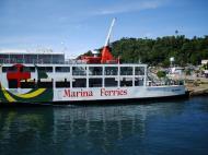 Asisbiz MV Reina Del Cielo Montenegro lines Calapan Pier Philippines 04