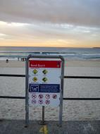 Asisbiz Australia Bondi Beach swimming signs 01