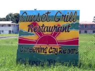 Asisbiz Sign Boards Advertising Panama Sunset Gril 01