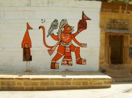 Asisbiz Sign Boards India Religious Rajasthan Jaisalmer Fort 01