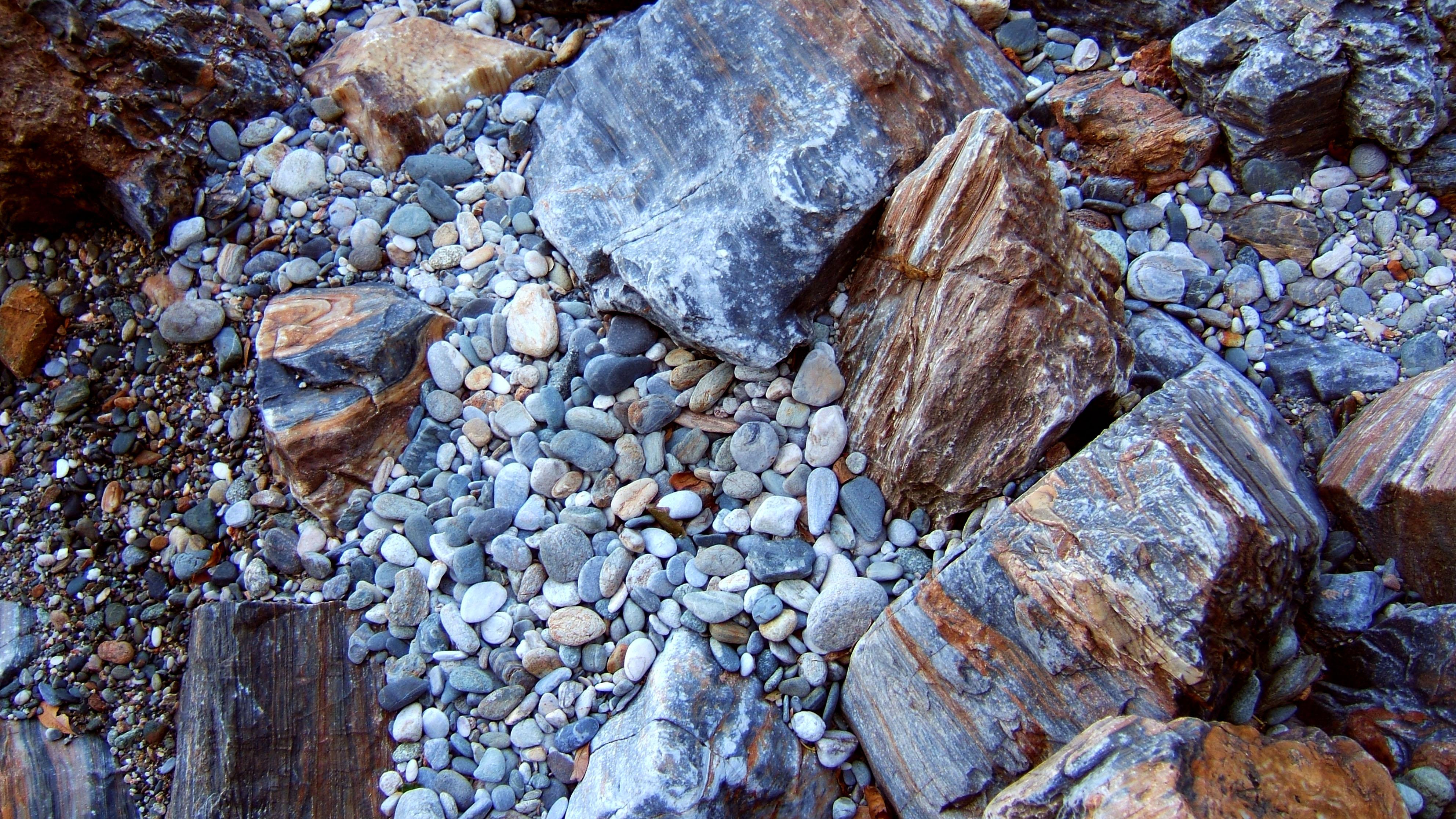 Textures Stones Pebbles Mindoro White Beach 01