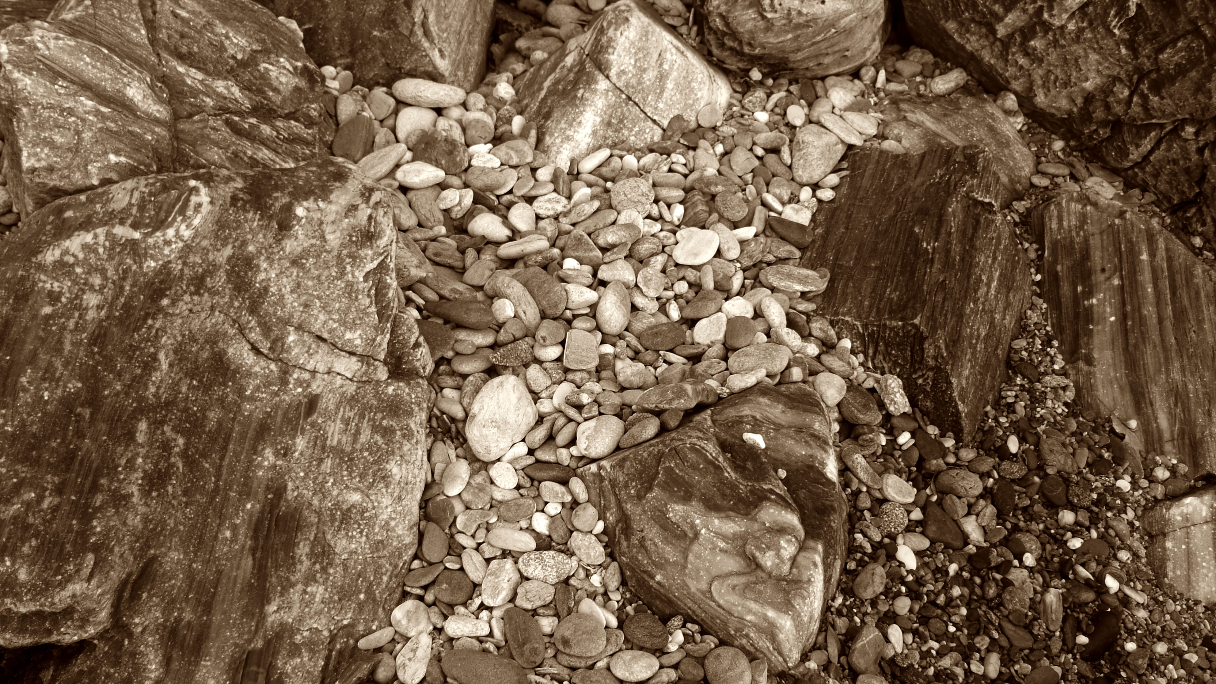 Textures Stones Pebbles Mindoro White Beach 02