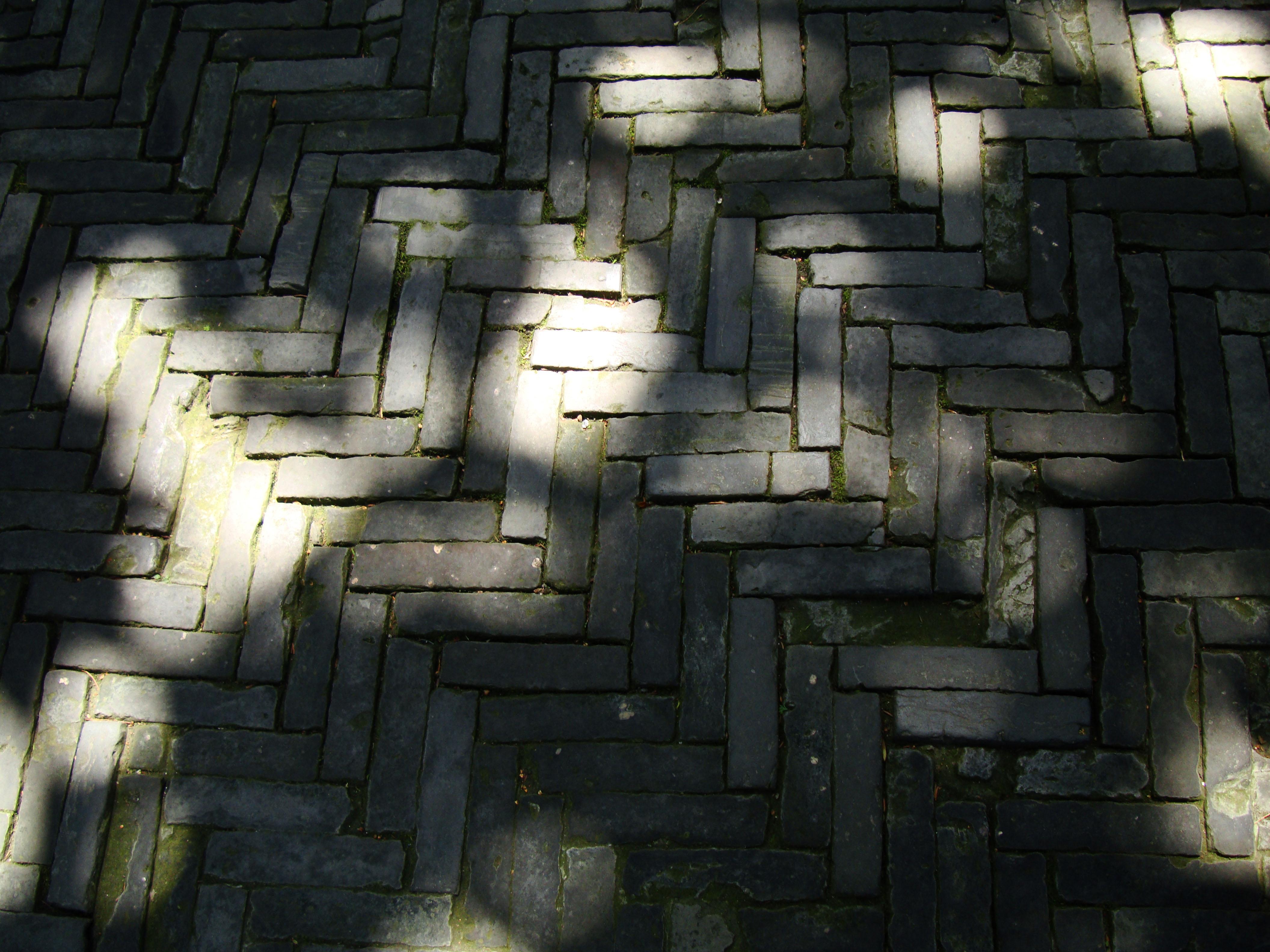 Yu Garden walkway brick work Sansui Hall and Yangshan Hall area Shanghai 01