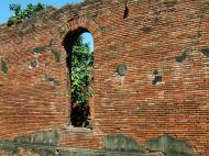 Asisbiz Textures Brickwork clay bricks Manila Fort 02