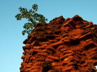 Asisbiz Textures Brickwork clay bricks Pagan 02