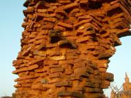 Asisbiz Textures Brickwork clay bricks Pagan 03