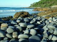 Asisbiz Textures Stones Pebbles Noosa National Park 08