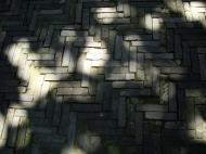Asisbiz Yu Garden tour Sansui Hall and Yangshan Hall outer walkway brick work Shanghai 01