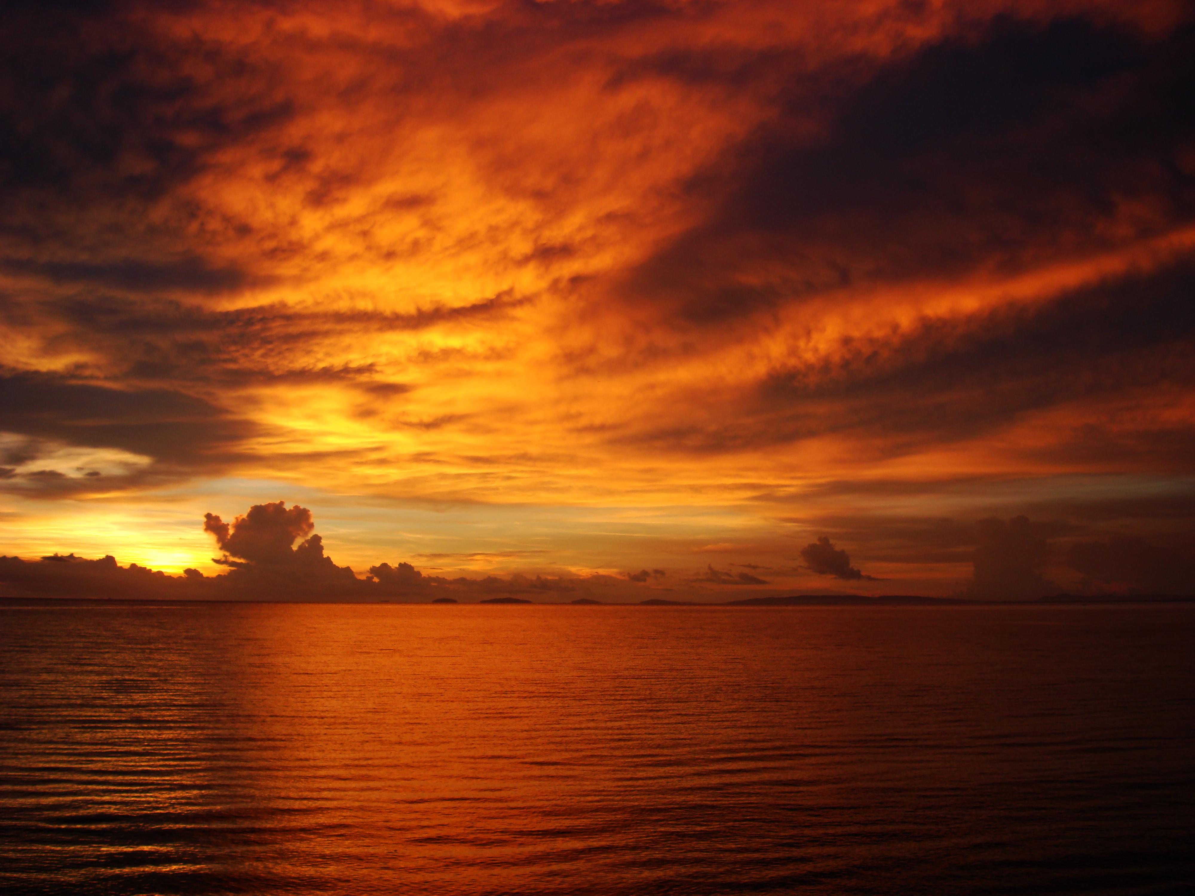Sunrise Philippines Mindoro Island Tabinay 22