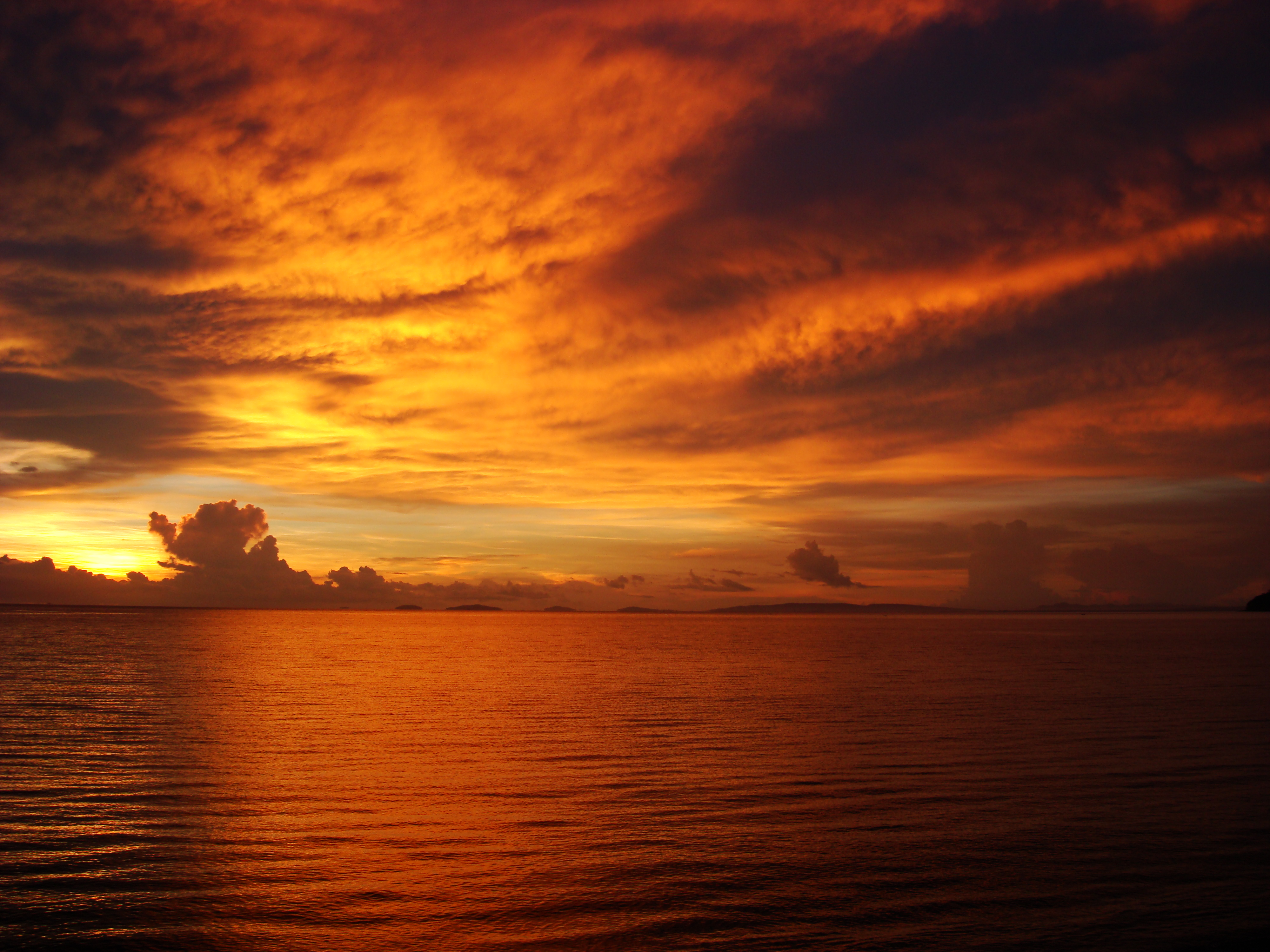 Sunrise Philippines Mindoro Island Tabinay 23