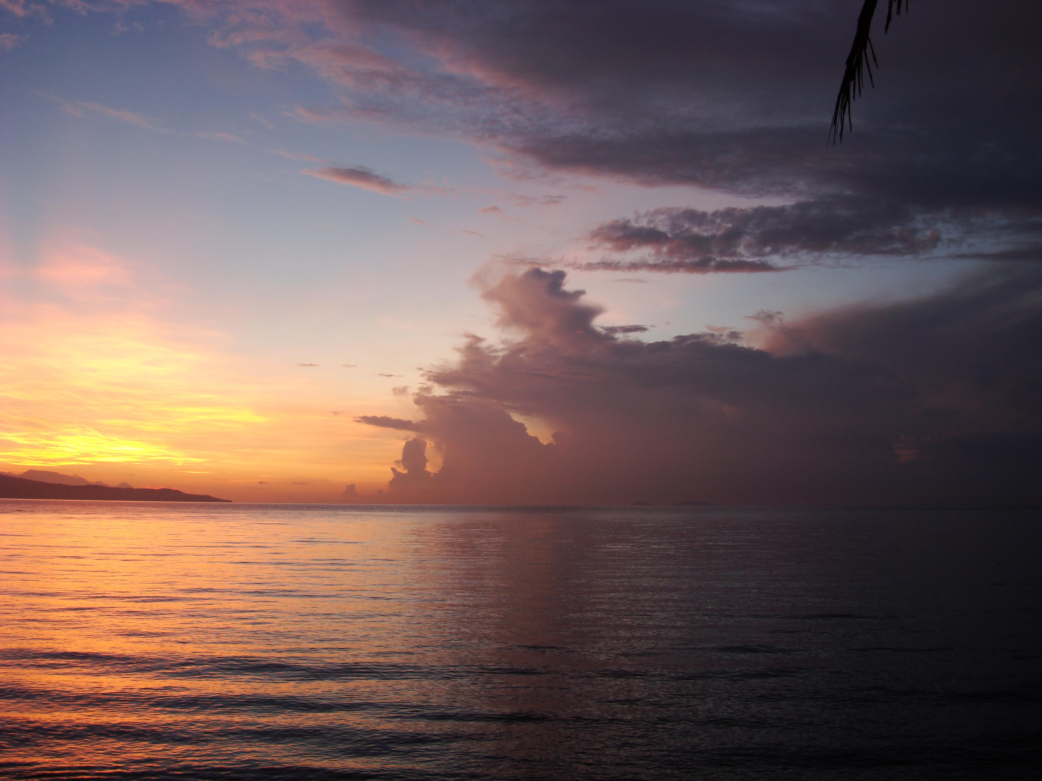 Sunrise Philippines Mindoro Island Tabinay 43
