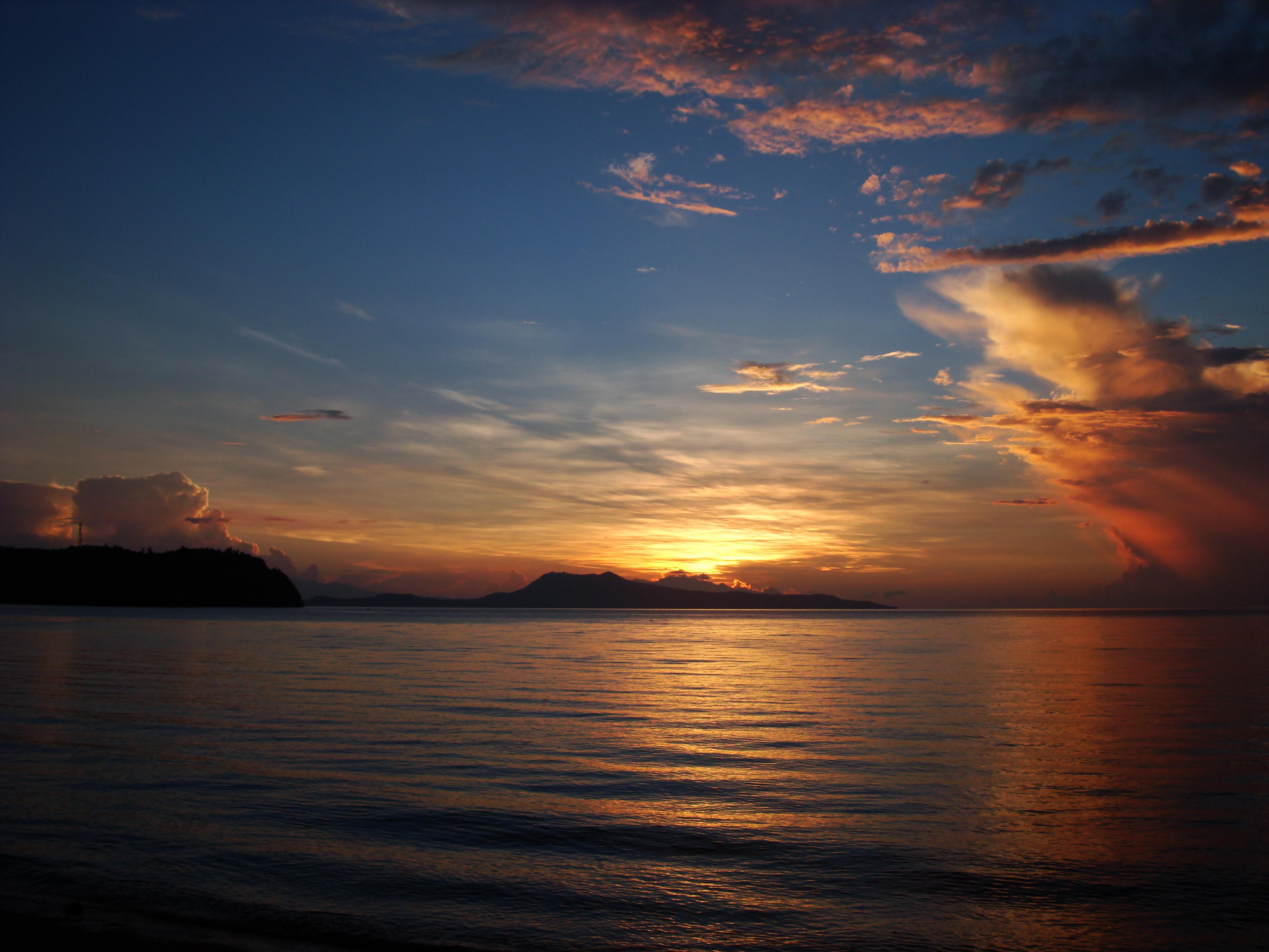 Sunrise Philippines Mindoro Island Tabinay 47