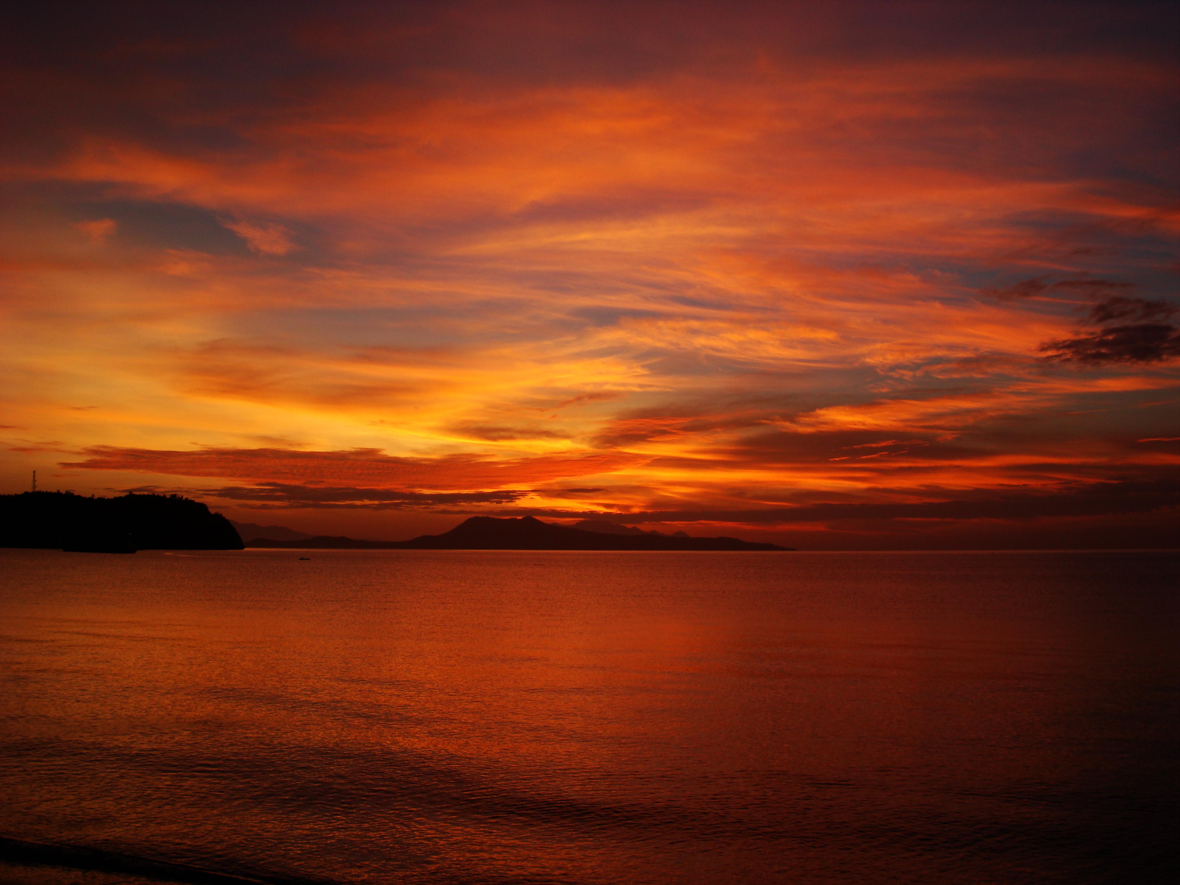 Sunrise Philippines Mindoro Island Tabinay 52