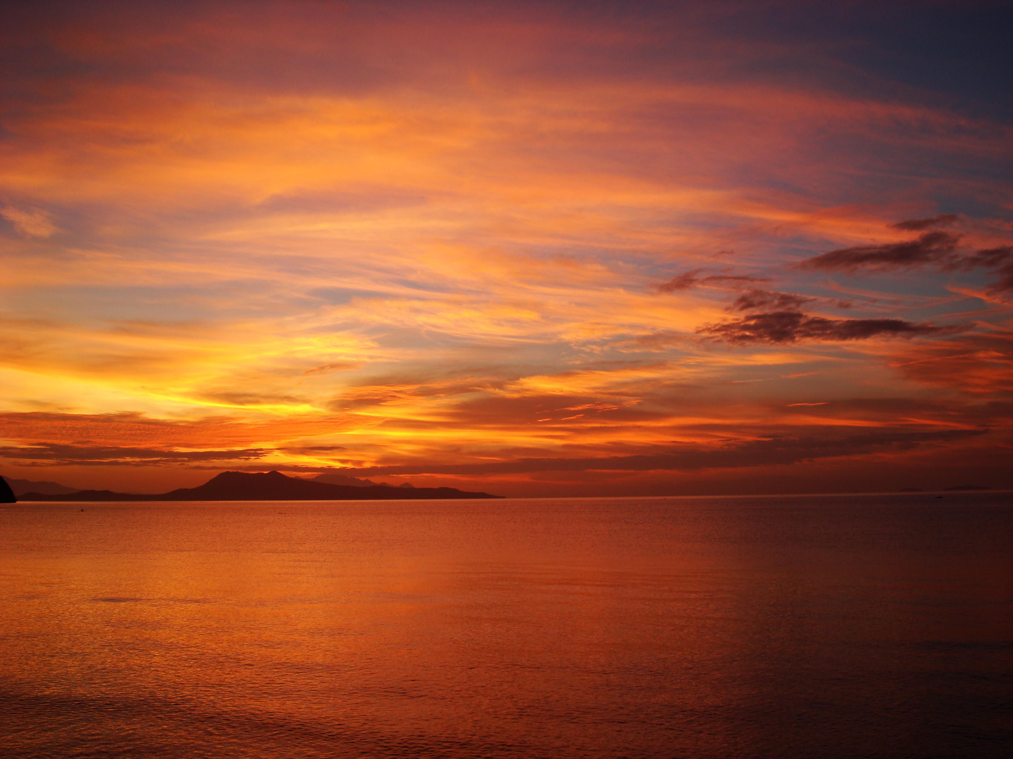 Sunrise Philippines Mindoro Island Tabinay 53