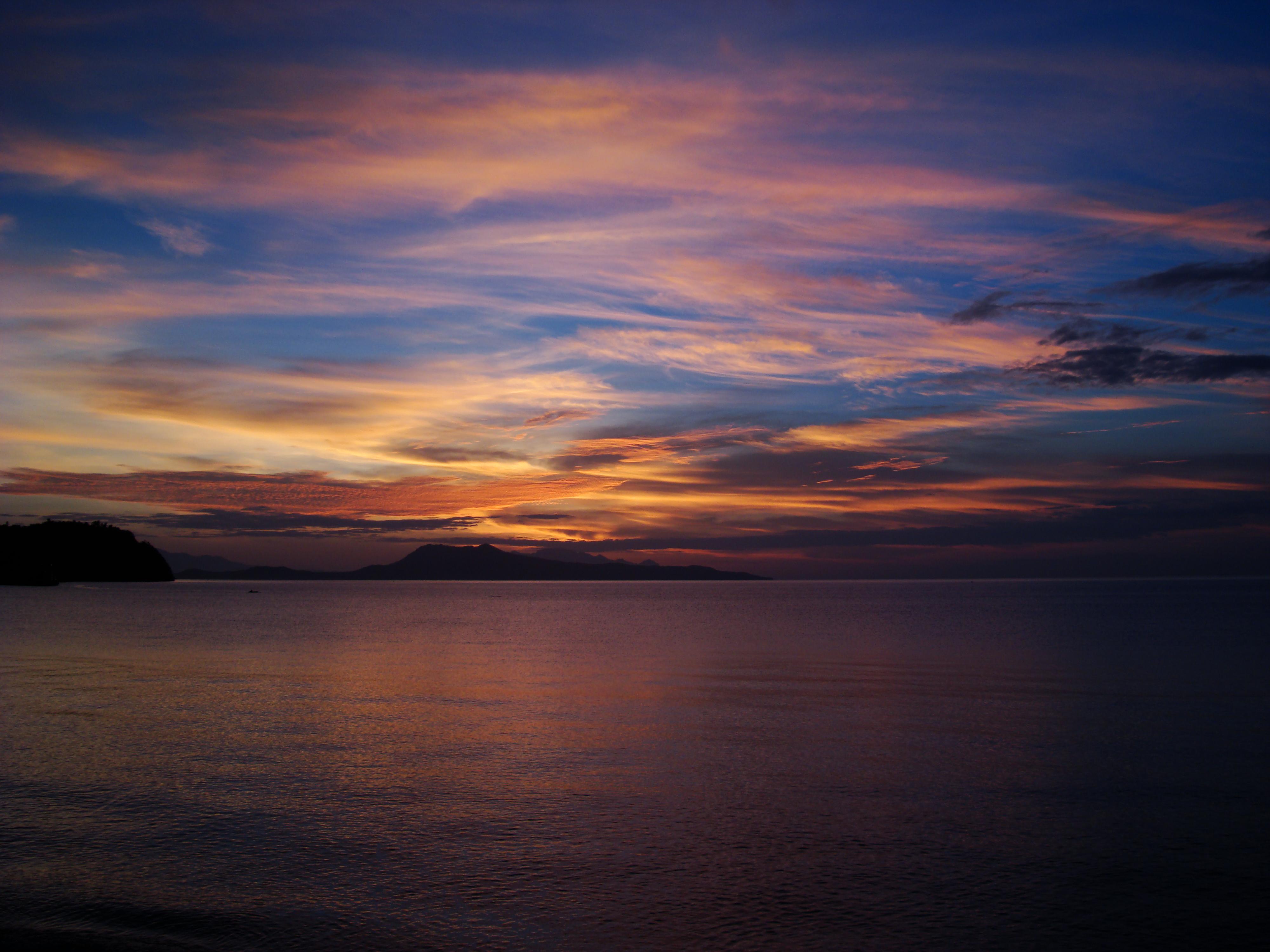 Sunrise Philippines Mindoro Island Tabinay 54