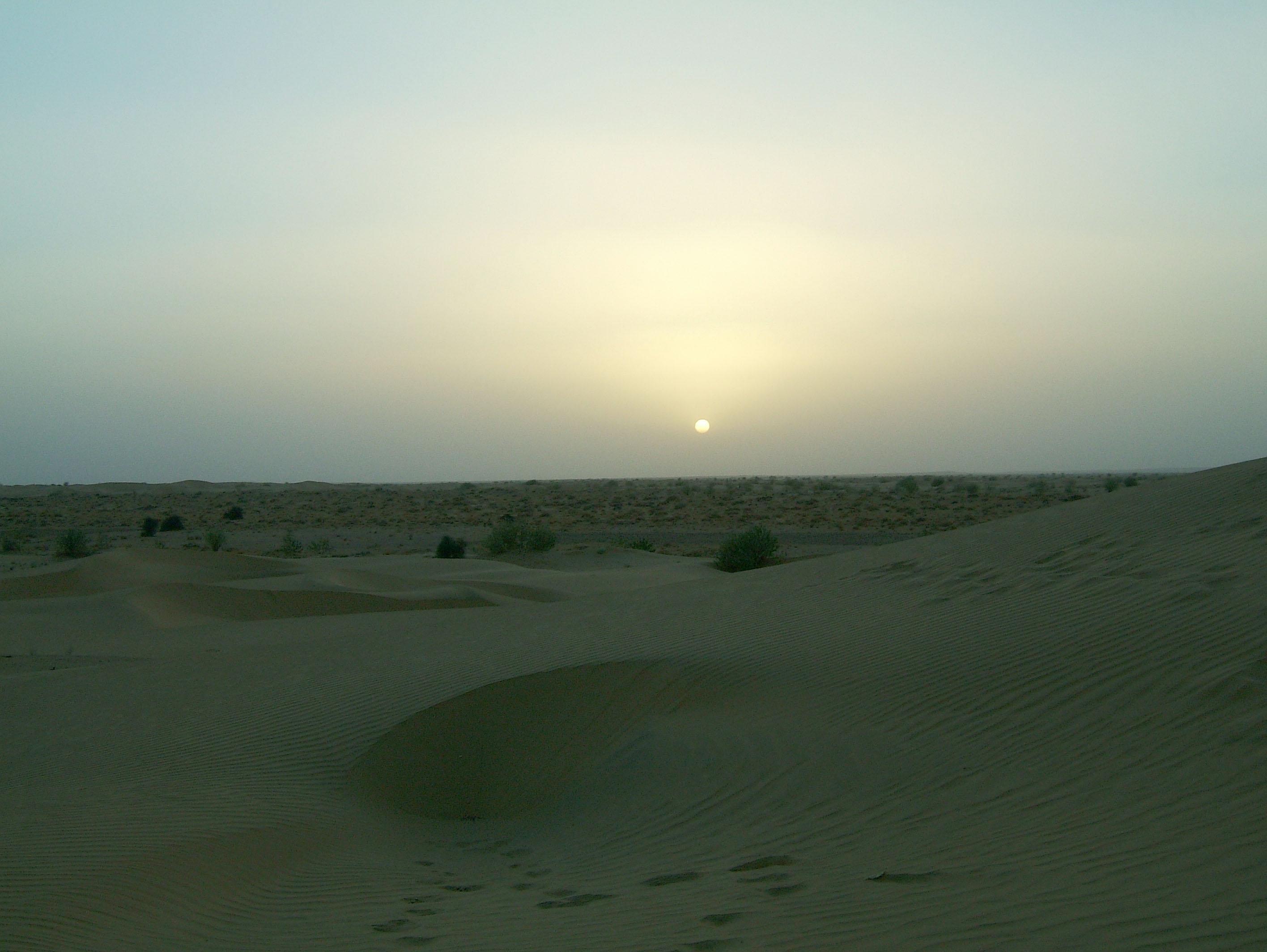 Sunset India Rajasthan Jaisalmer 01