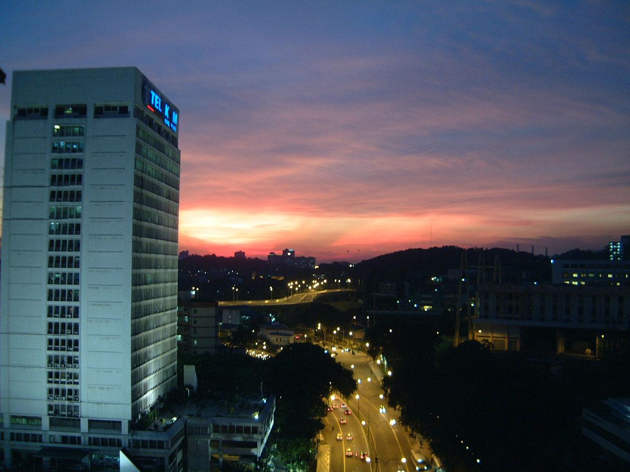 Sunset Malaysia Kuala Lumpur KL 02