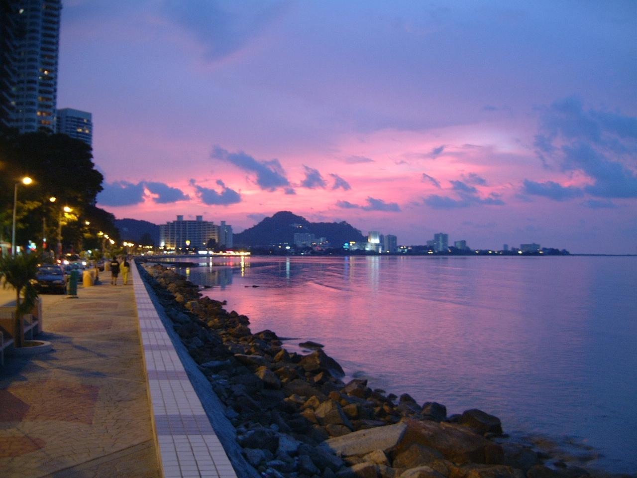 Sunset Malaysia Penang 01