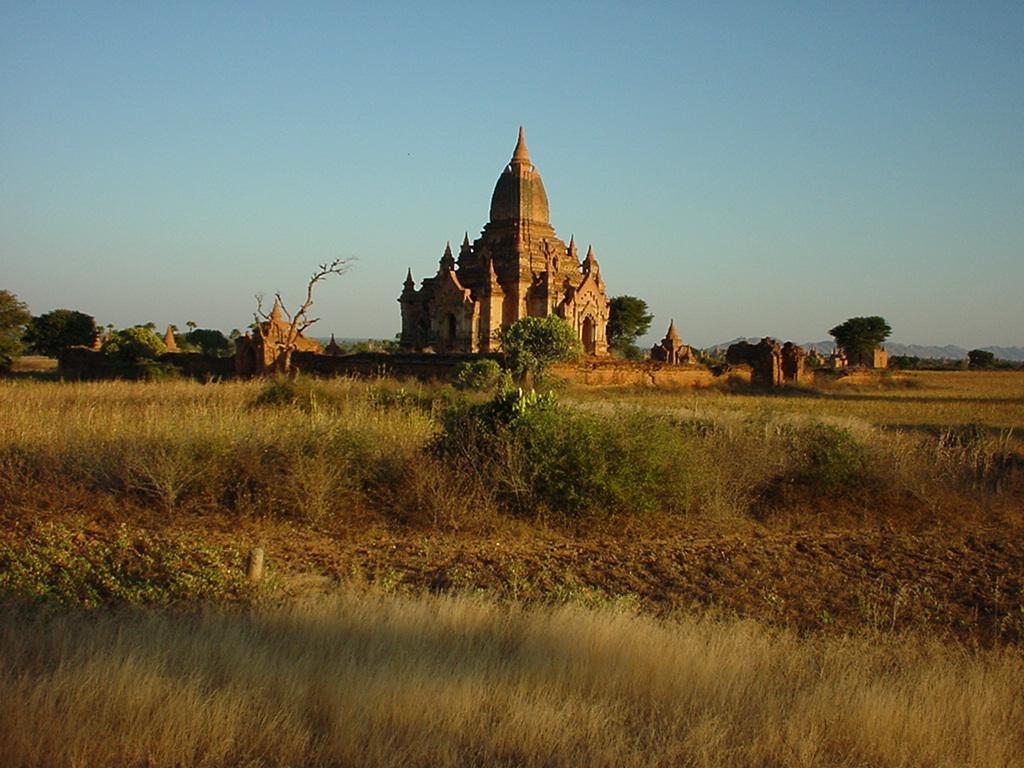 Sunset Myanmar Pagan 10