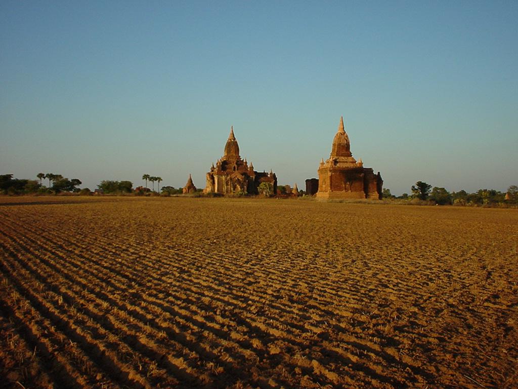 Sunset Myanmar Pagan 11