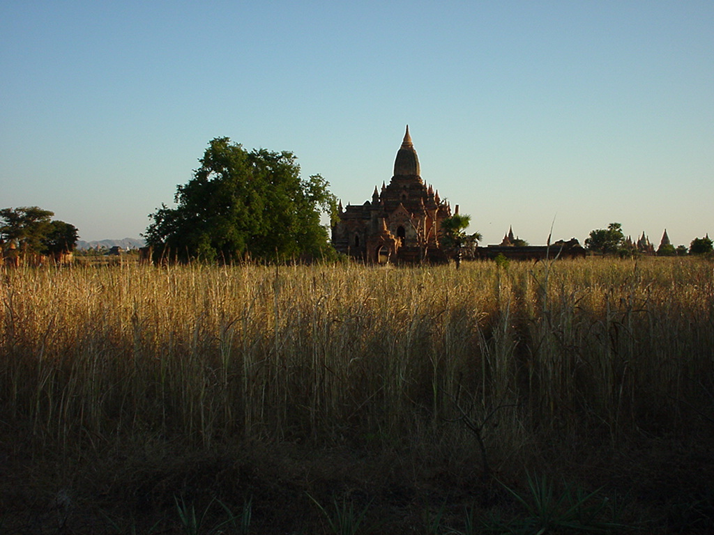 Sunset Myanmar Pagan 12