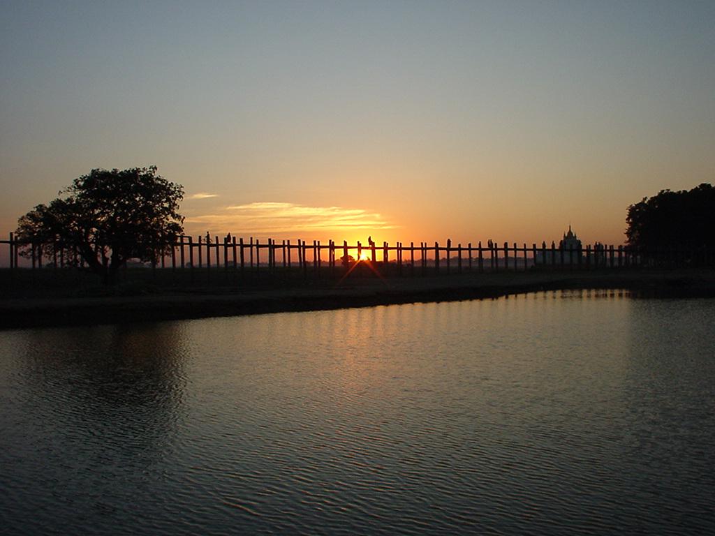 Sunset Myanmar Pagan 18