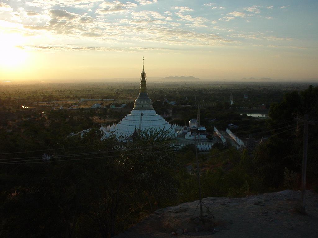 Sunset Myanmar Sagaing 01