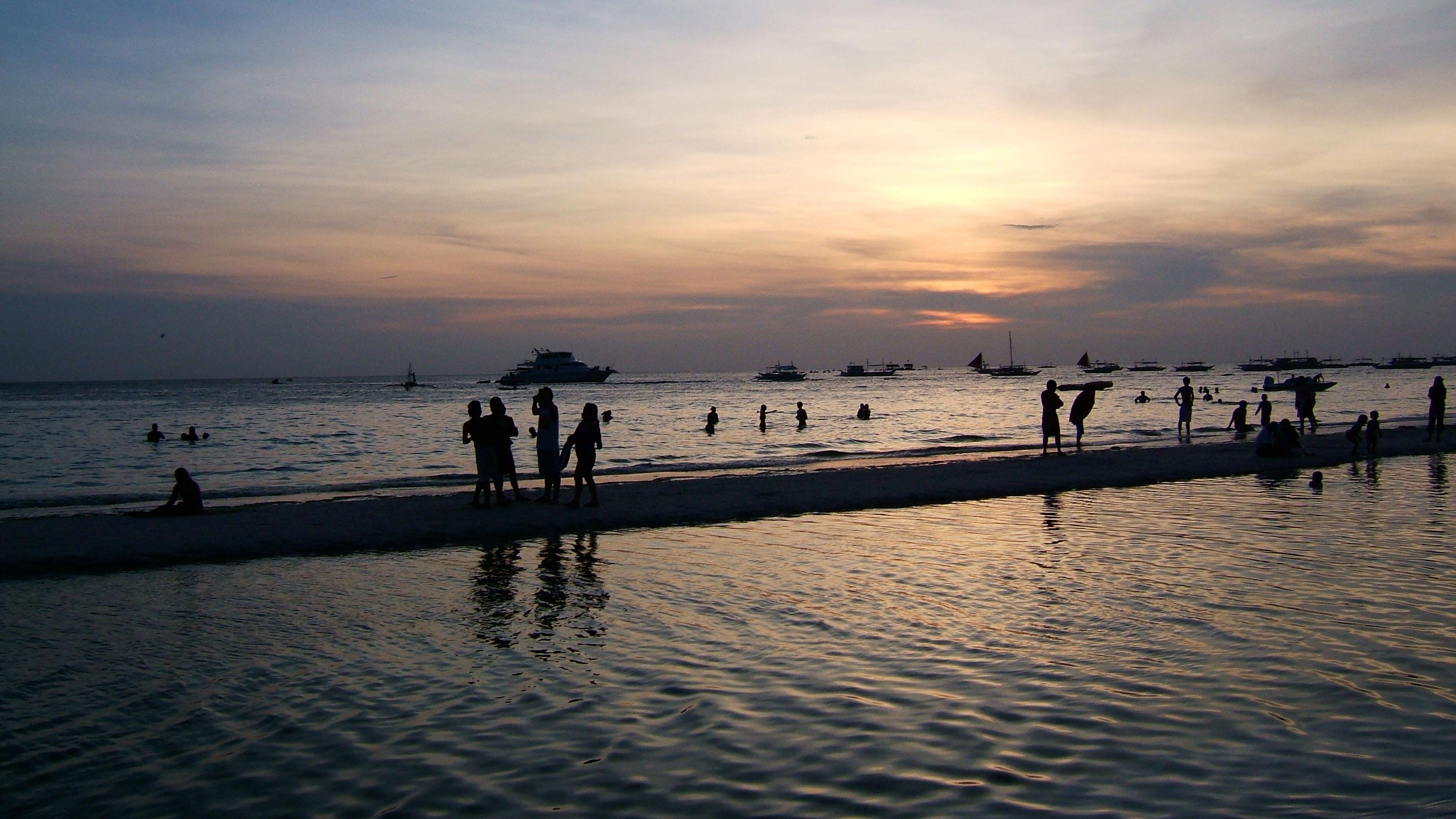 Sunset Philippines Boracay Beach 02