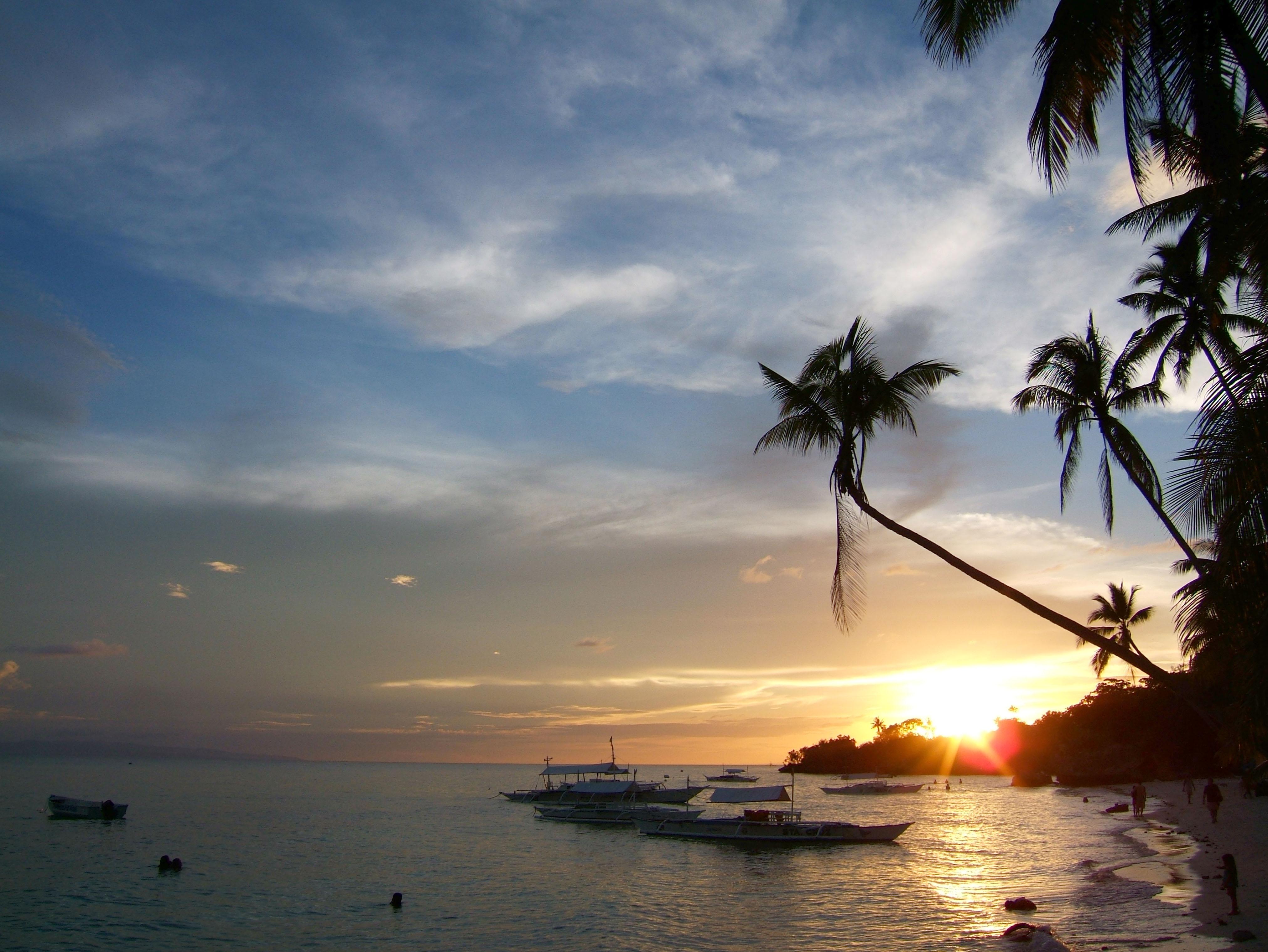 Sunset Philippines Cebu Bahoal 01