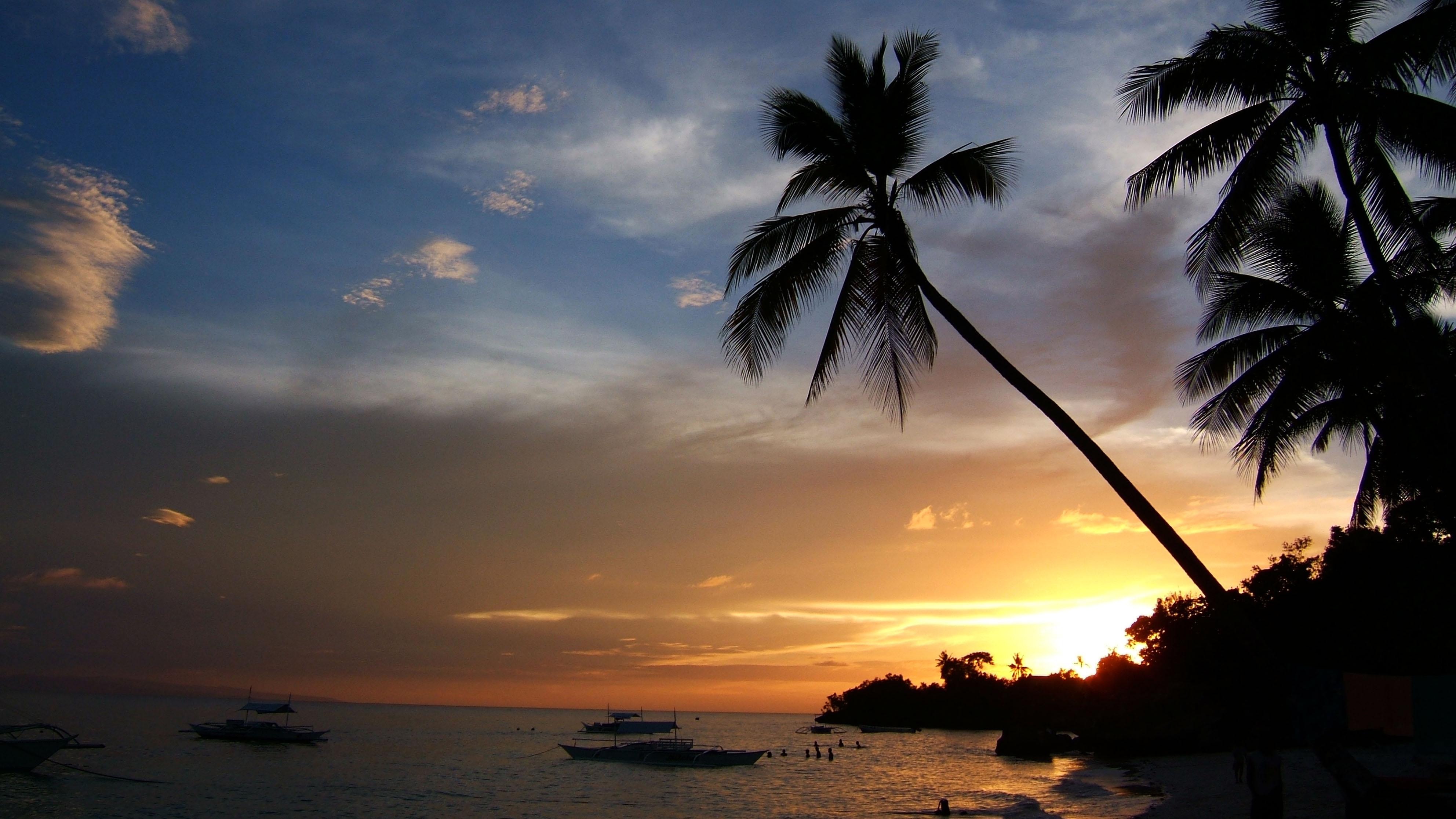 Sunset Philippines Cebu Bahoal 02