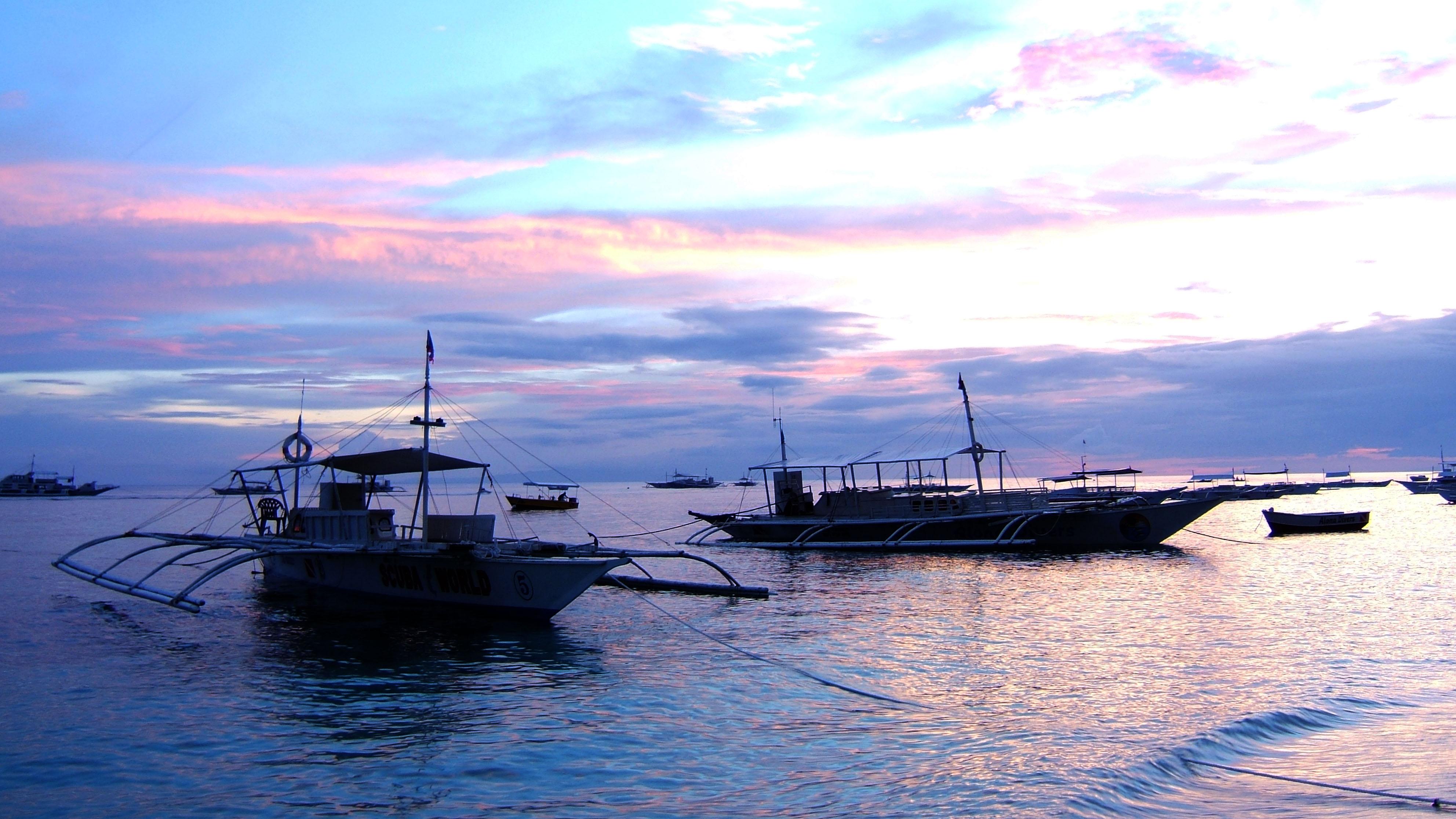 Sunset Philippines Cebu Bahoal 04