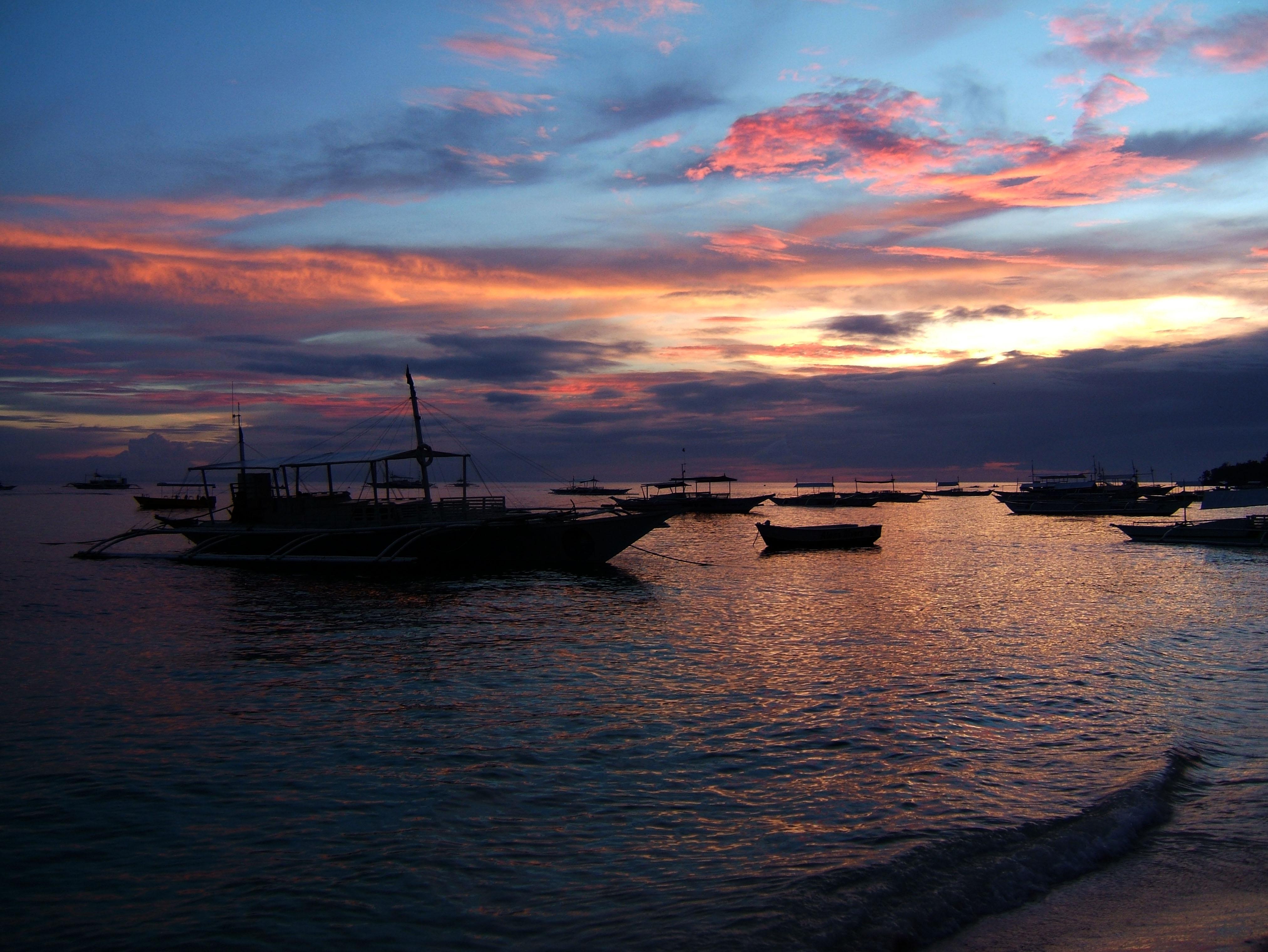 Sunset Philippines Cebu Bahoal 05