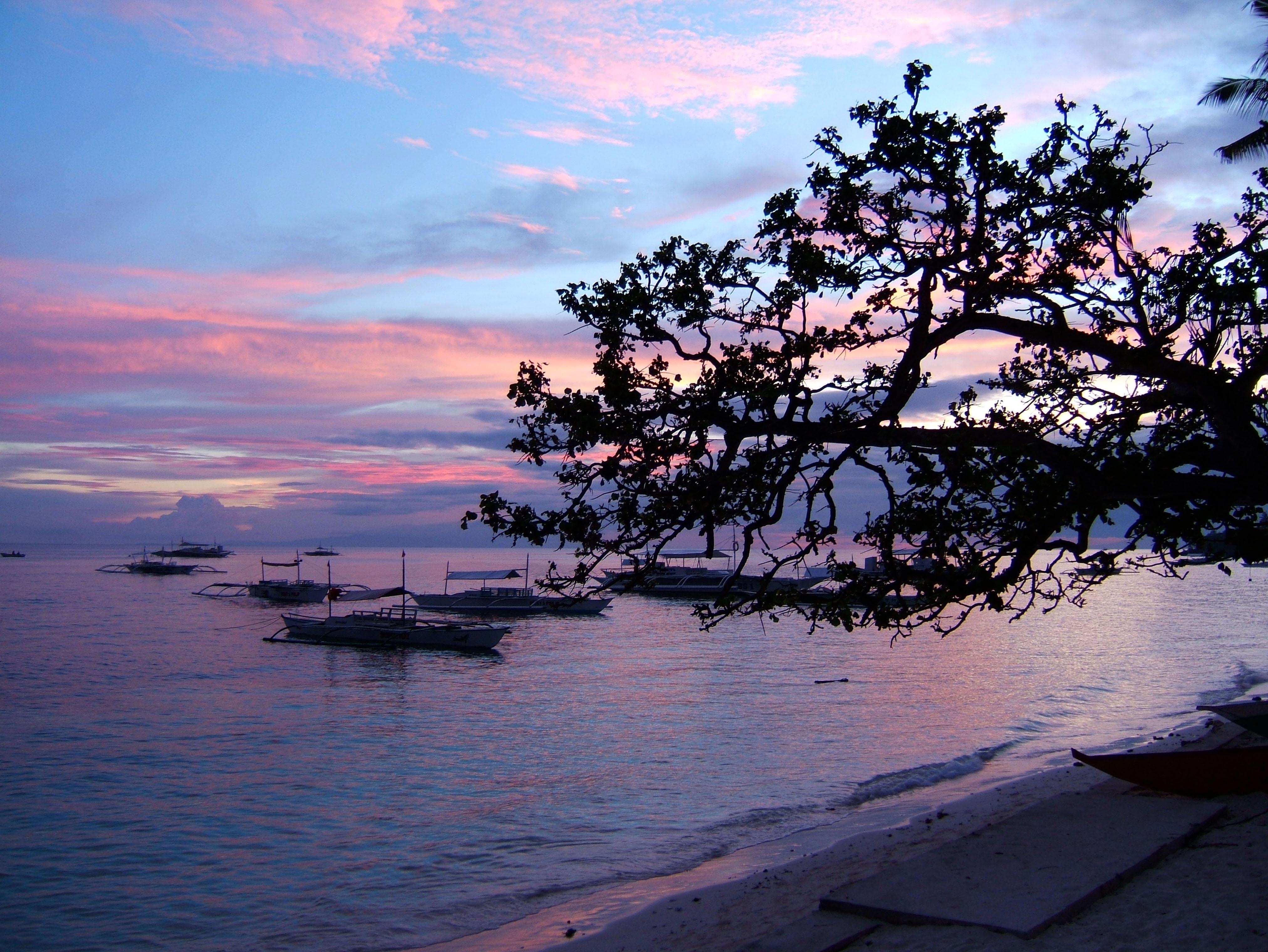 Sunset Philippines Cebu Bahoal 07