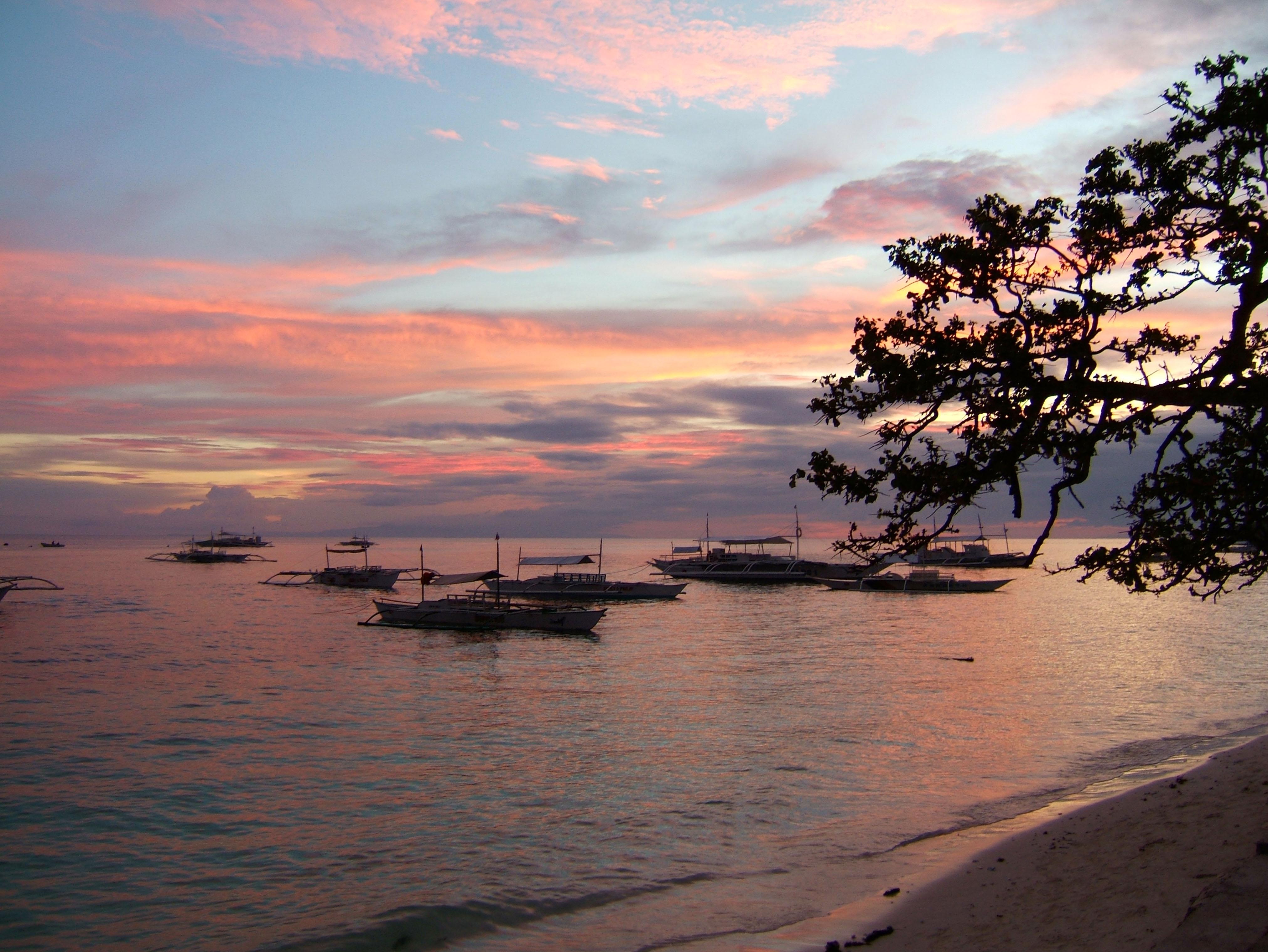 Sunset Philippines Cebu Bahoal 08