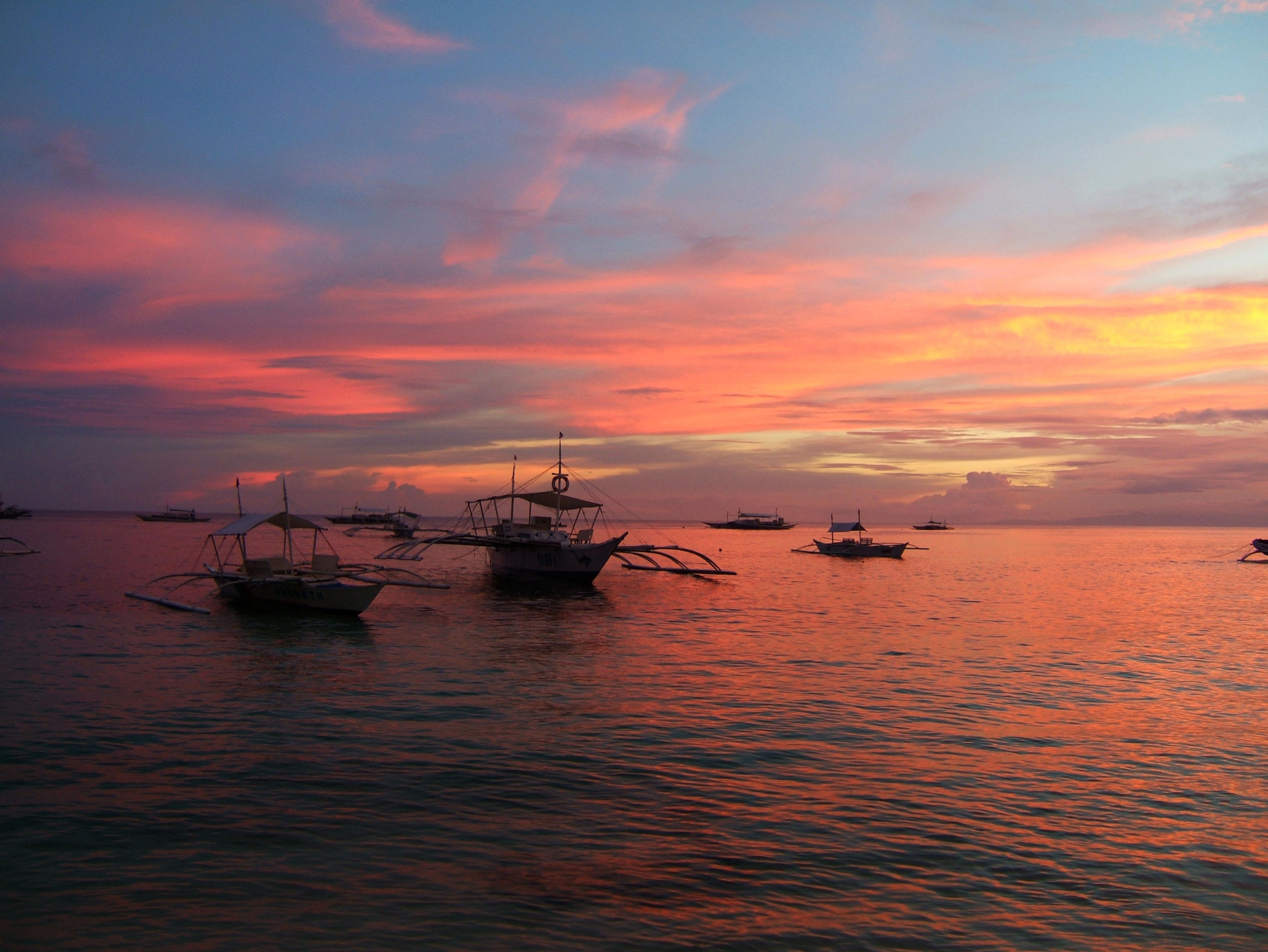 Sunset Philippines Cebu Bahoal 09