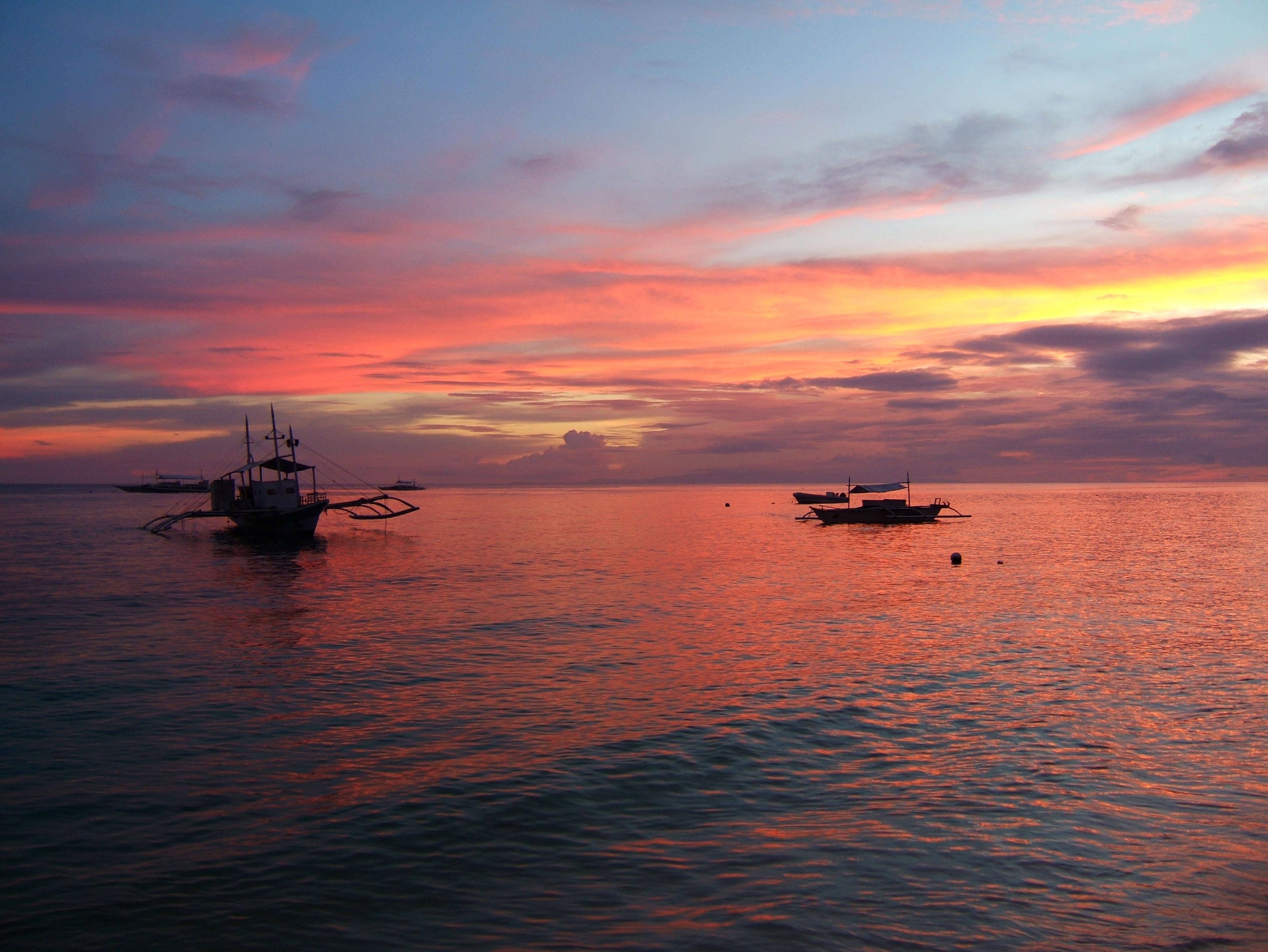 Sunset Philippines Cebu Bahoal 10