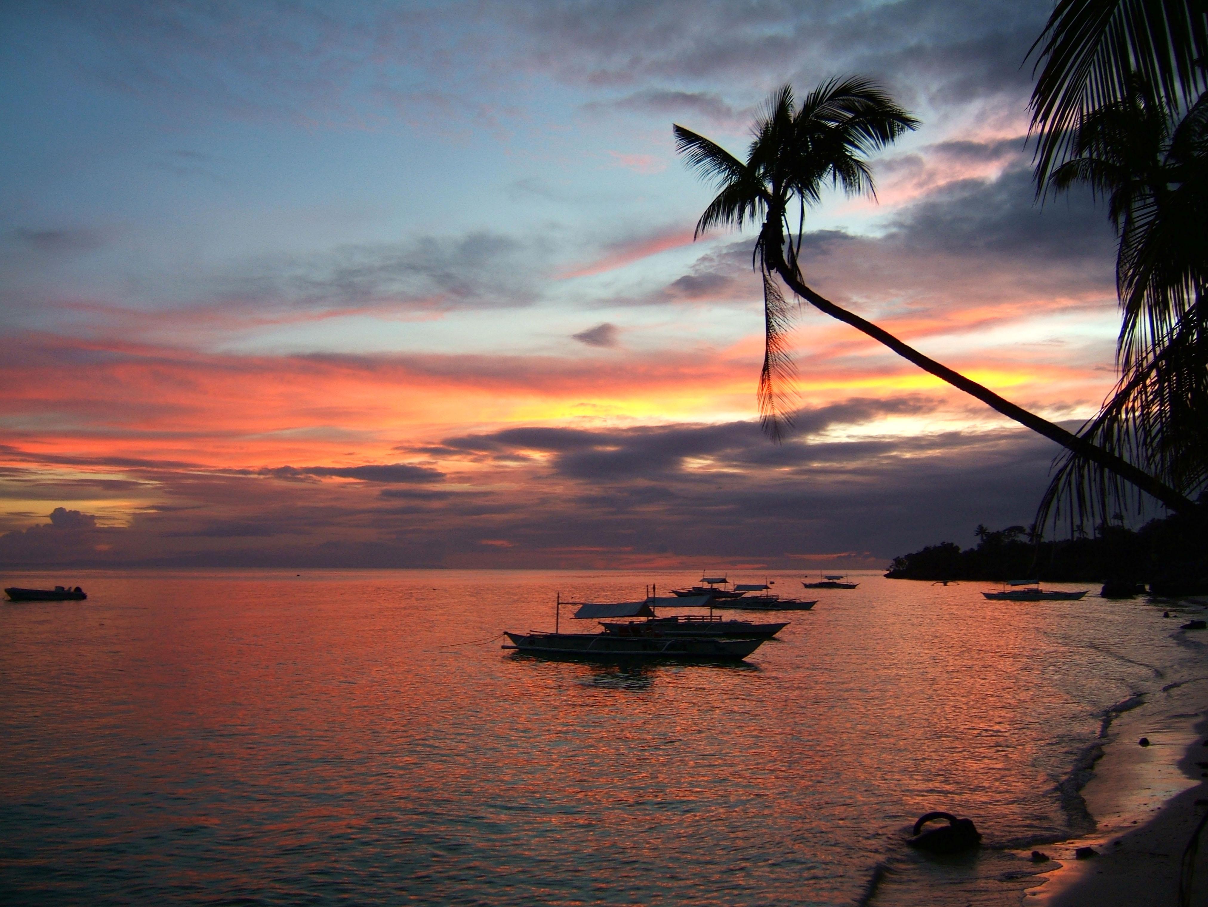 Sunset Philippines Cebu Bahoal 11