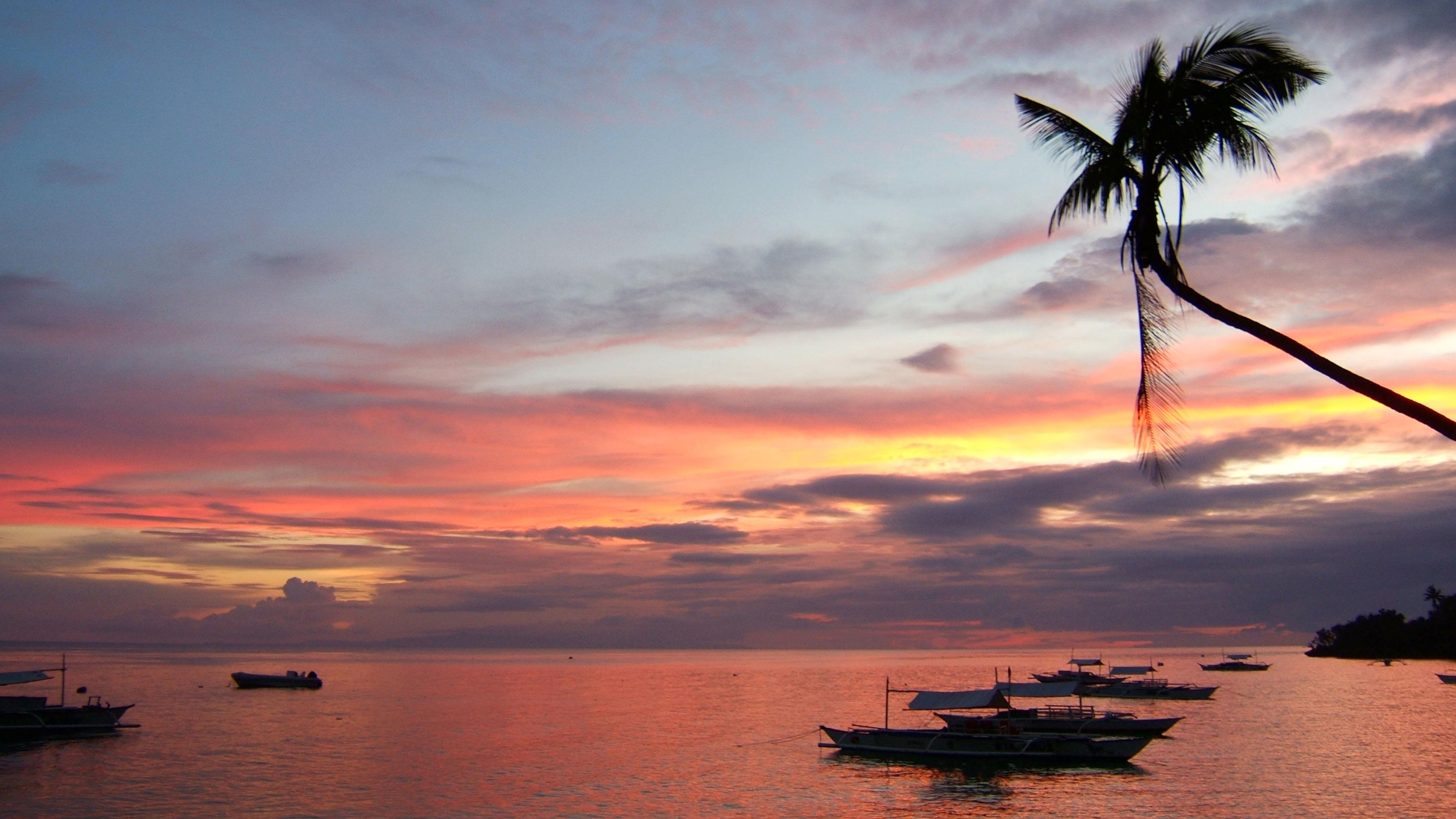 Sunset Philippines Cebu Bahoal 12