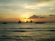 Asisbiz Sunset Philippines Boracay Beach 26