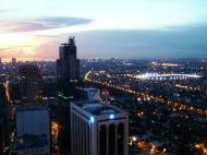 Asisbiz Sunset Philippines Manila Makati Roxas triangle 04