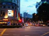 Asisbiz Sunset Singapore Orchard Street 01