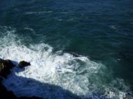 Asisbiz Textures Water h2o shoreline coastal rocks cliff 01