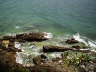Asisbiz Textures Water h2o shoreline coastal rocks cliff 03
